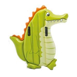 Nafukovacie lehátko - krokodíl